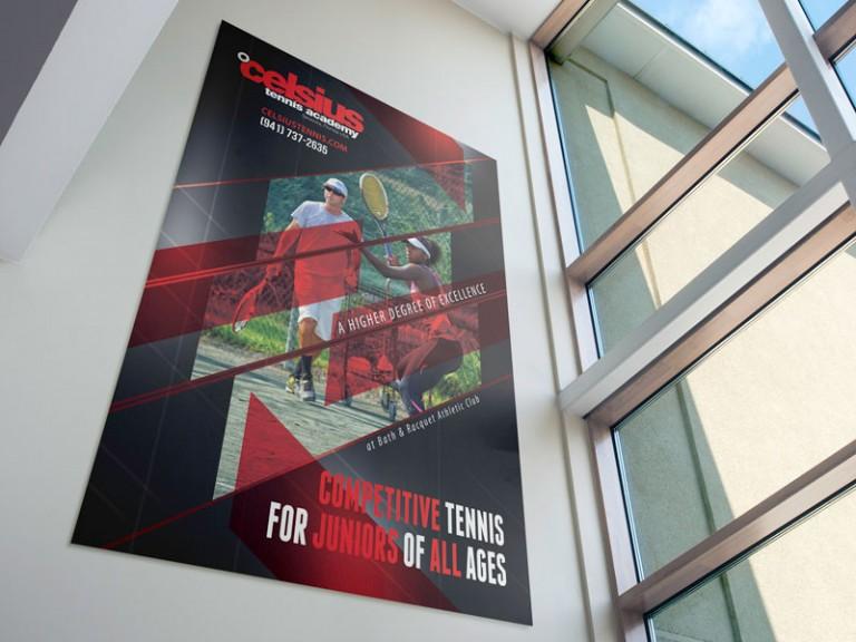 Celsius Tennis Poster