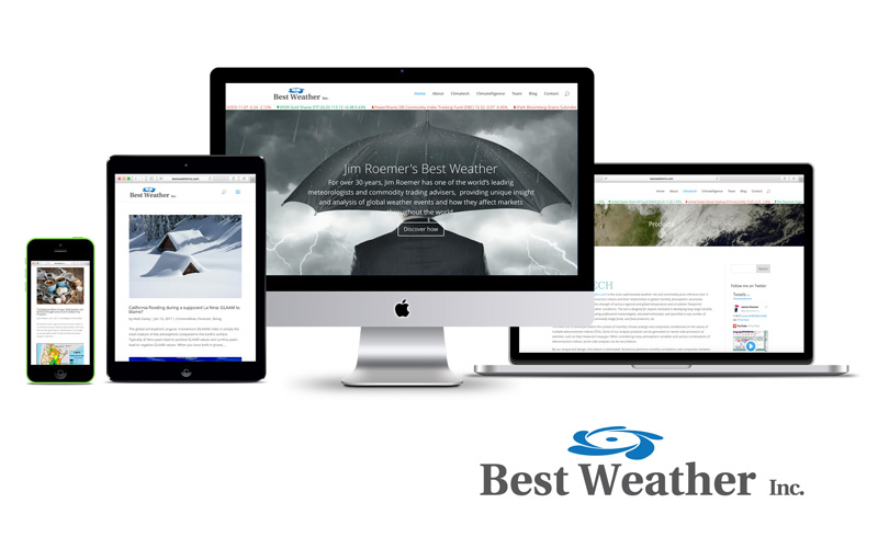 best weather responsive website