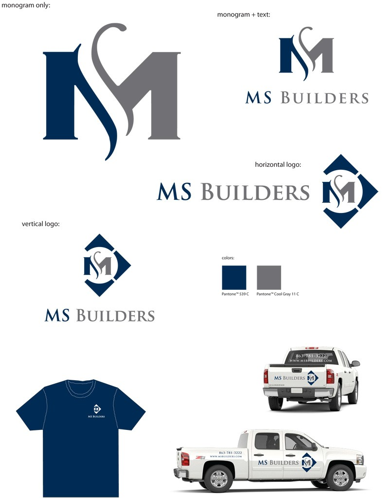 monogram and logo design