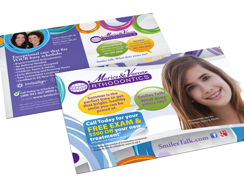 direct mail postcard example