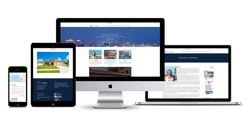 realtor website design sarasota florida